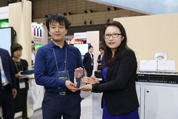 The Huawei OceanStor Dorado V3 All Flash Storage wins the Grand Prize in the Server & Storage Category