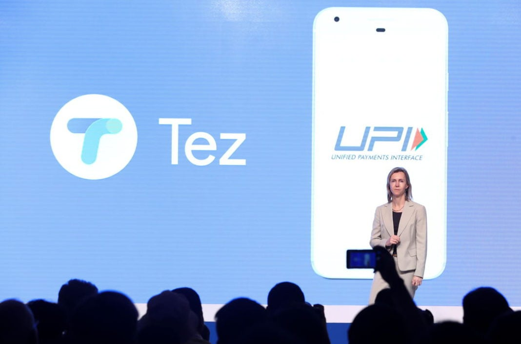 Tez- the payment app from Google launched in India