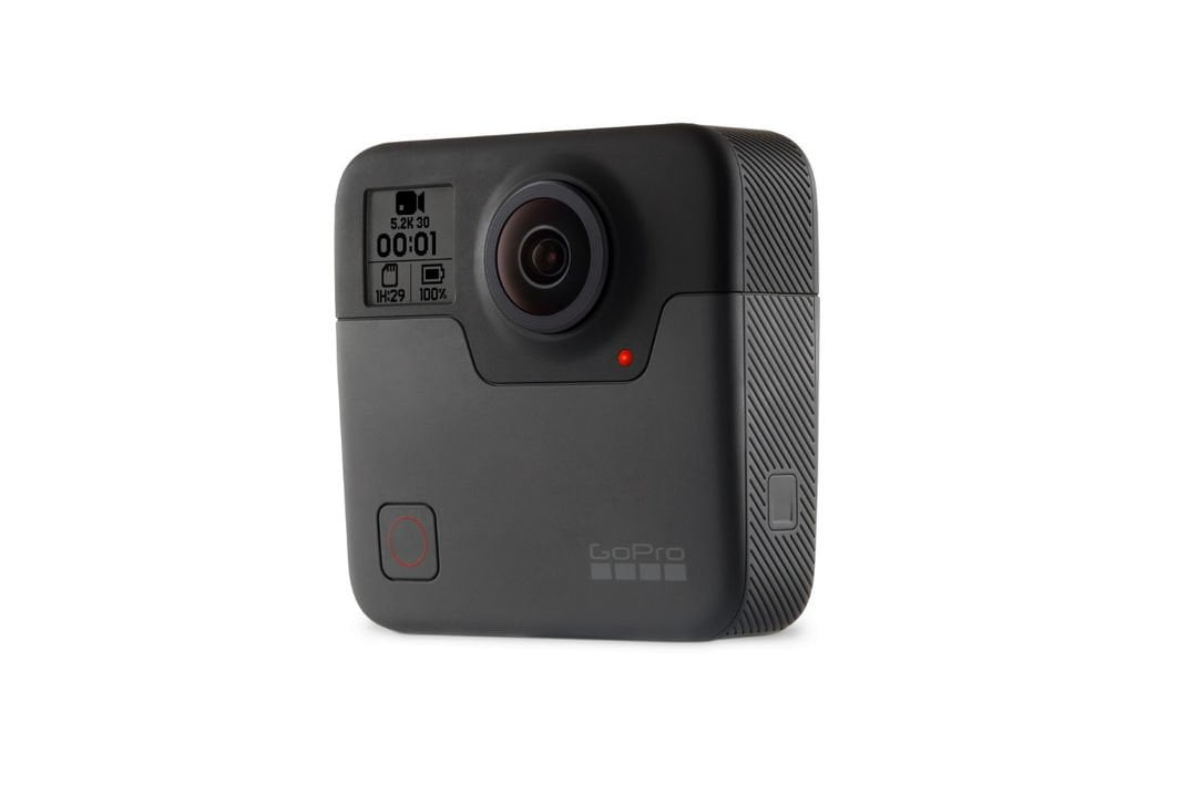 GoPro Fusion captures spherical videos at 5.2K