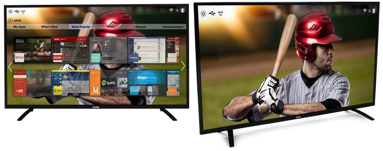 SPPL Unveils Kodak 55-inch 4K UHD Smart TV in India