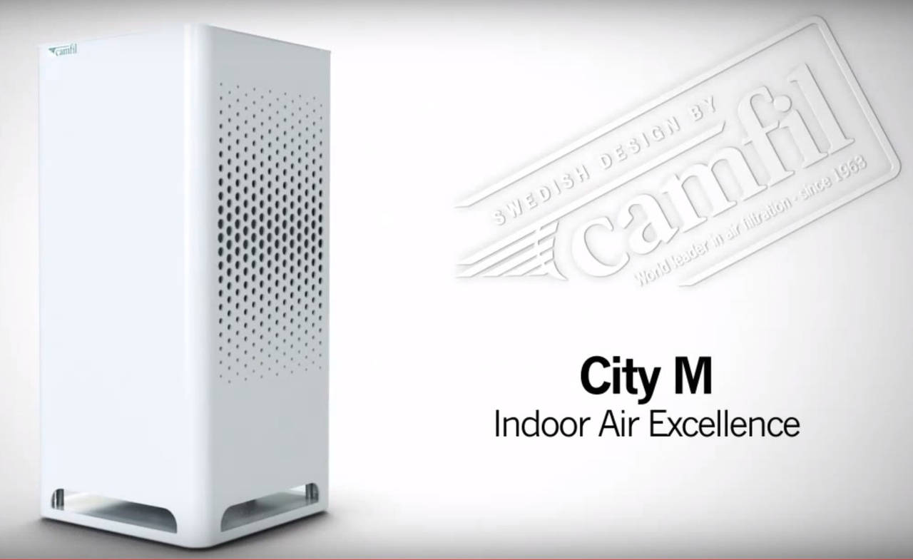 Camfil City M Indoor Air Purifier Launched In India