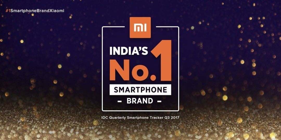 Xiaomi Becomes The Top Smartphone Vendor In India