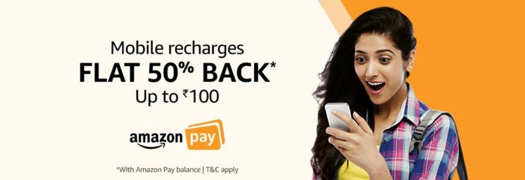 Amazon Pay-Prepaid Mobile Recharge