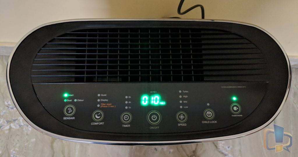 Blue Star Air Purifier Running