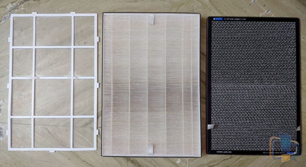 Blue Star air purifier filters