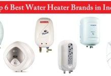 Top 6 Best Water Heater Brands in India