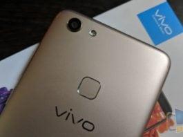 Vivo V7 Back Camera