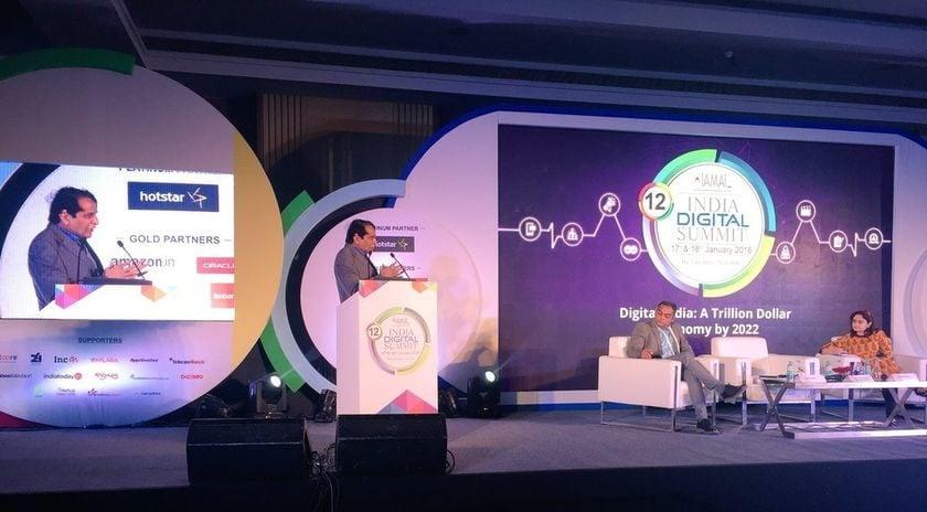 Suresh Prabhu at 12th India Digital Summit