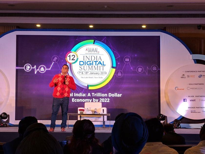 Vijay Shekhar Sharma at 12th India Digital Summit