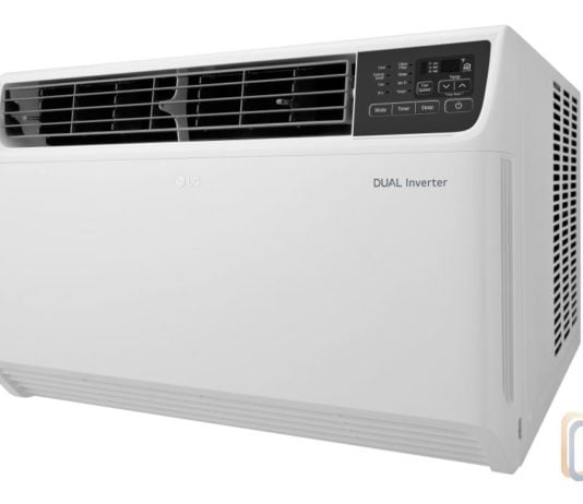 LG Dual Inverter Window AC - LW2217IVSM