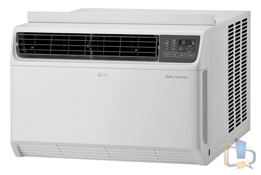 LG Dual Inverter Window AC - LW2217IVSM RightSide