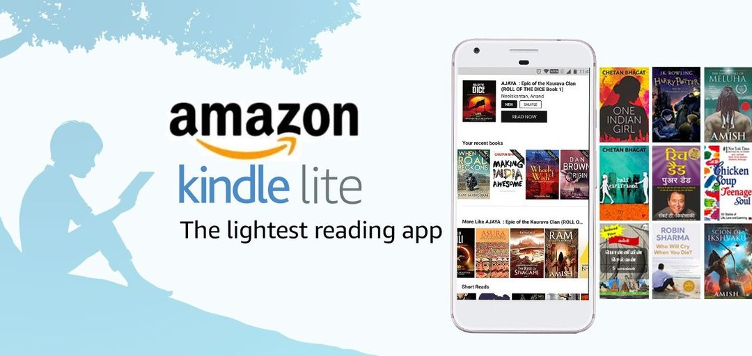 Amazon Kindle Lite App Launched In India
