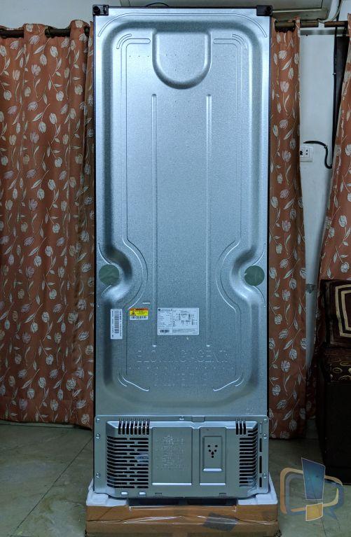 LG Inverter Linear Refrigerator Back