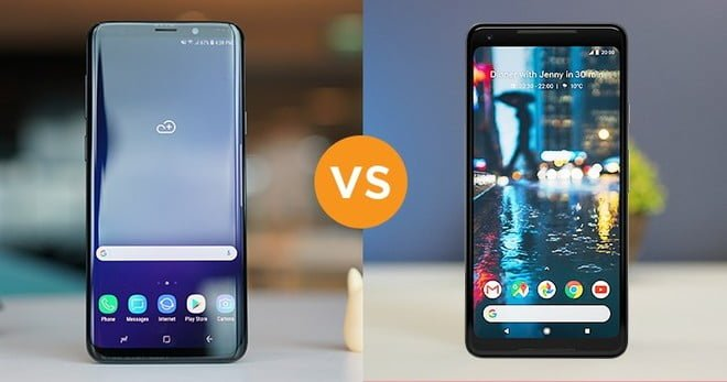 Samsung Galaxy S9 Plus vs. Google Pixel 2 Camera