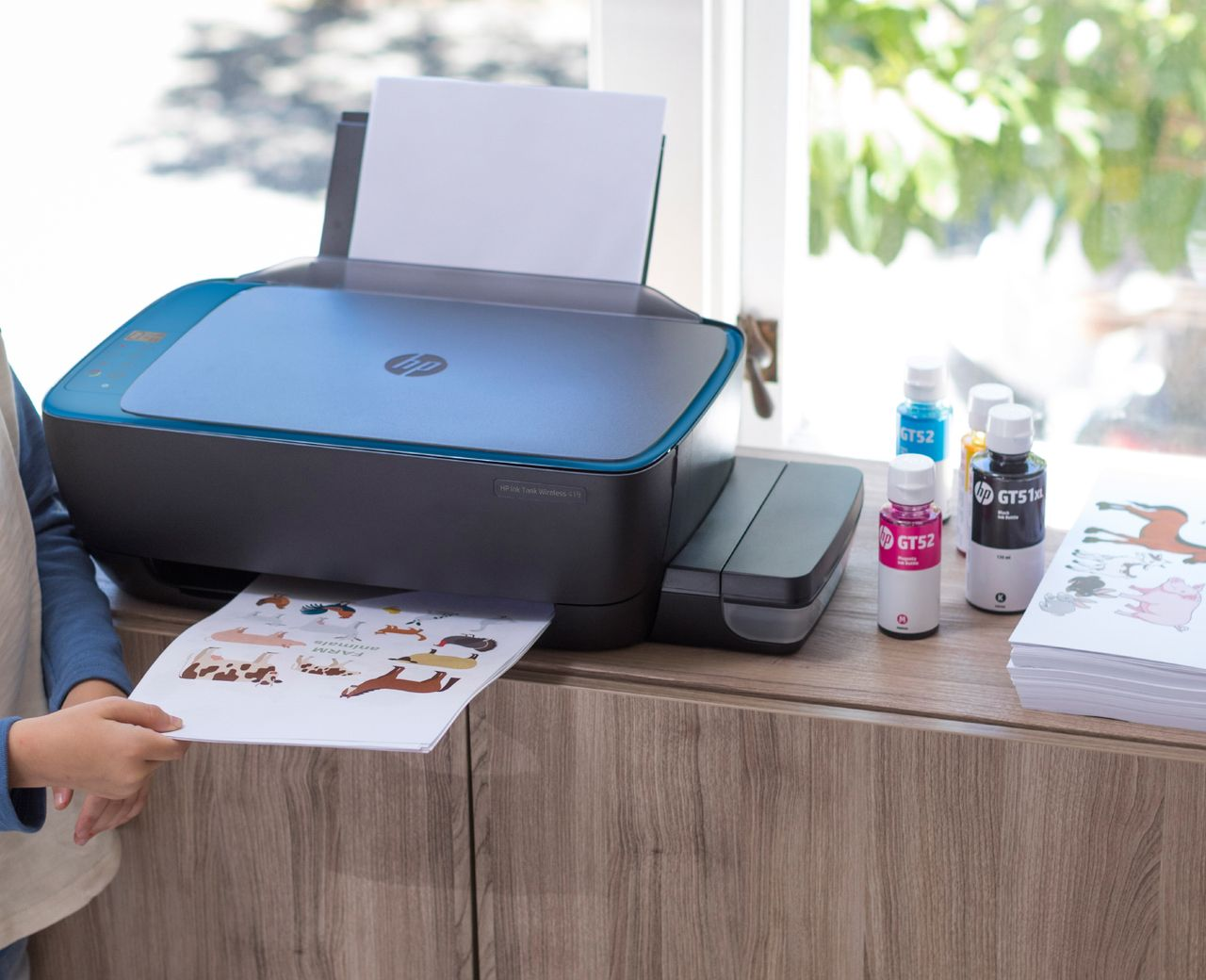 HP Ink Tank Printer (Wireless 419)