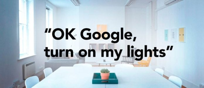 Google Home - Turn on Light