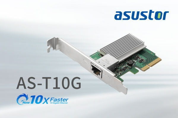 ASUSTOR AS-T10G Ethernet Expansion Card