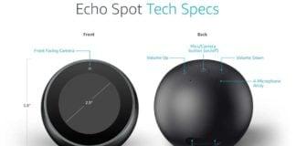 Echo Spot Tech Specs