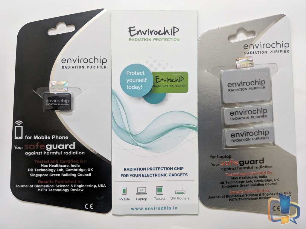 Envirochip - Solution against Electromagnetic radiations