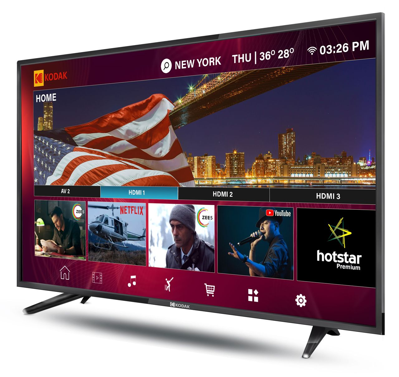 Kodak XPRO Series Smart LED TVs Launched In India