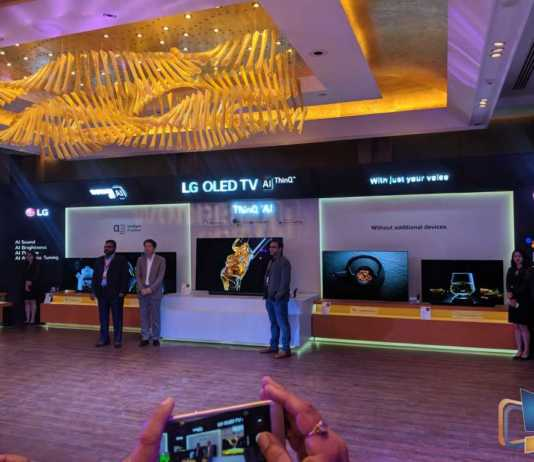 LG AI TV Launch 2019