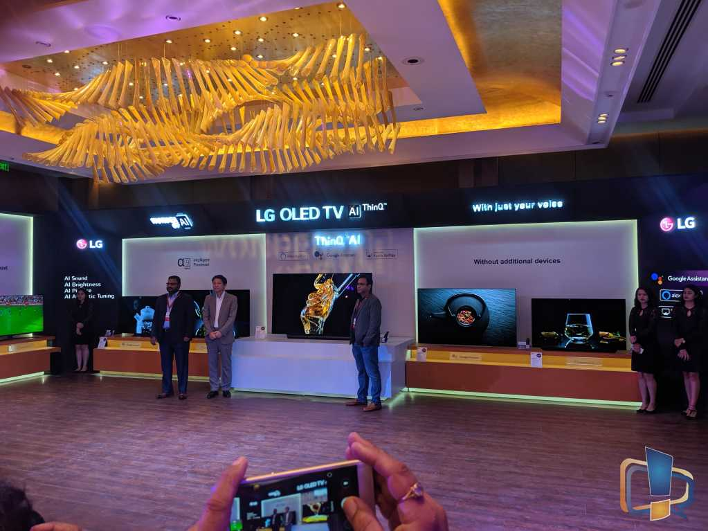 LG AI TV Launch 2019
