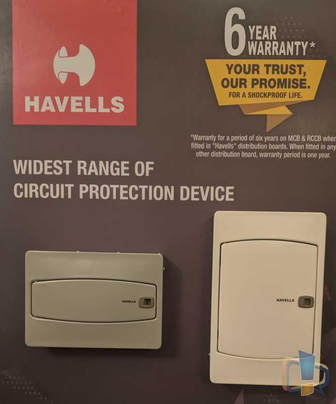 Havells RCCB Warranty