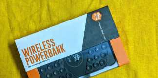 STM Goods Wireless Power Bank Packaging