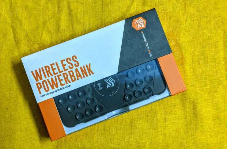 STM Goods Wireless Power Bank Packaging