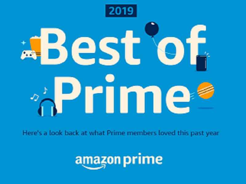 Amazon India's Best of Prime 2019